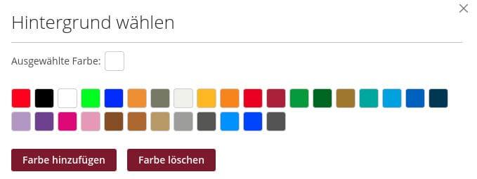 Farbpalette für Duschrückwände Glas bei Schön und Wieder.