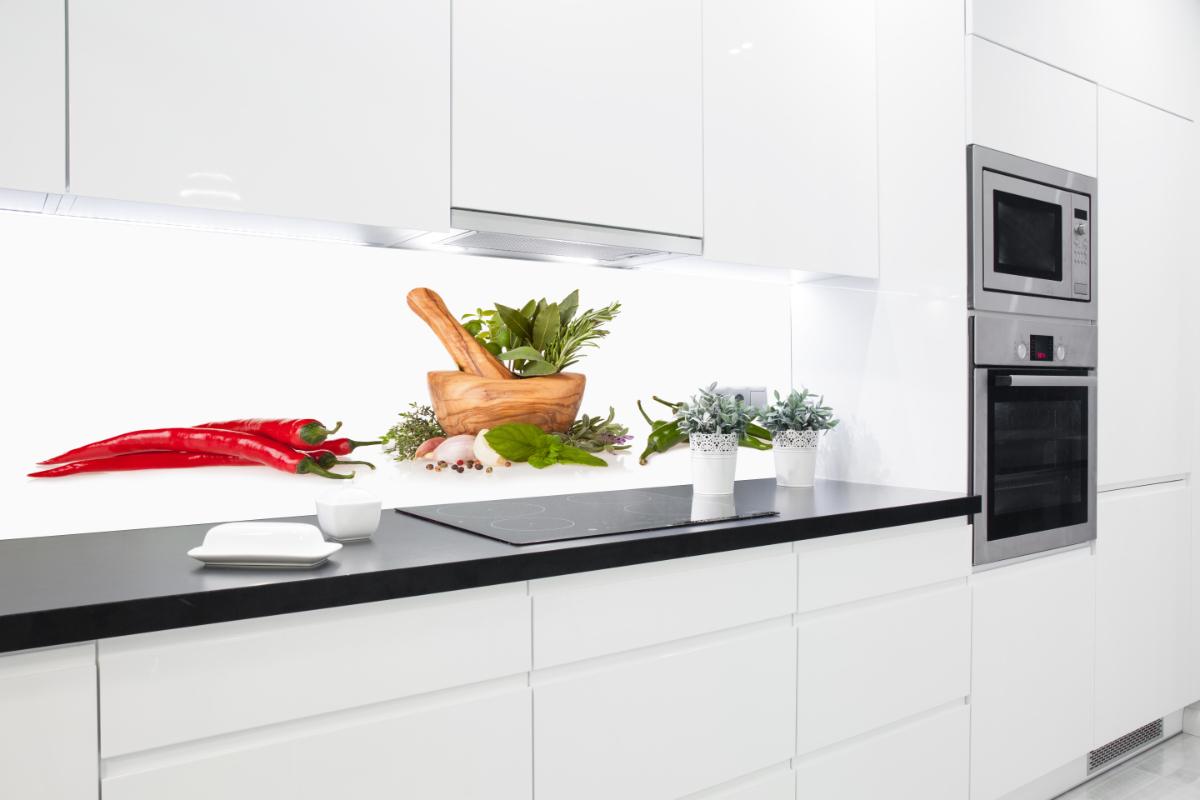 Küchenrückwand aus Acryl