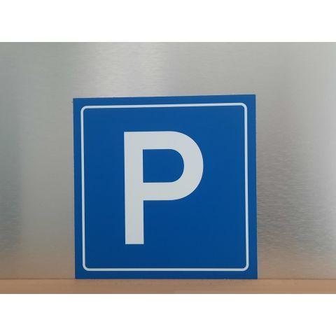 """Schild """"Parkplatz"""""""