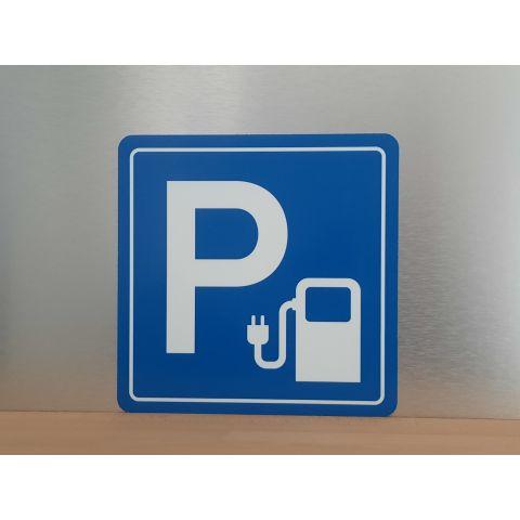 "Schild ""Parkplatz E-Mobil 2"""