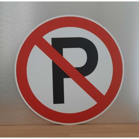 """Schild """"Kein Parkplatz"""" bzw. """"Parken verboten"""""""