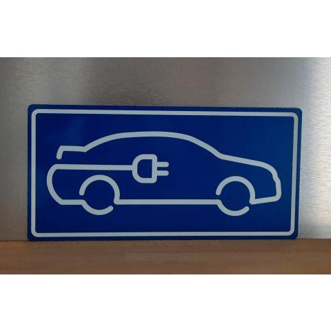 "Schild ""Parkplatz E-Mobil"""