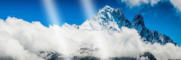"""Motiv """"KR467 Berge und Wolken"""""""