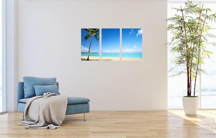 Glasbild von Schön & Wieder