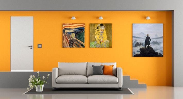 Wandbild, plateart
